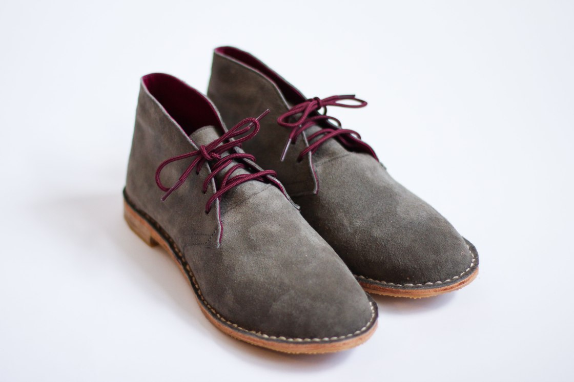 3df67b814bc0 Adventures in Shoemaking  Desert Boots at Art   Sole Academy – Of ...